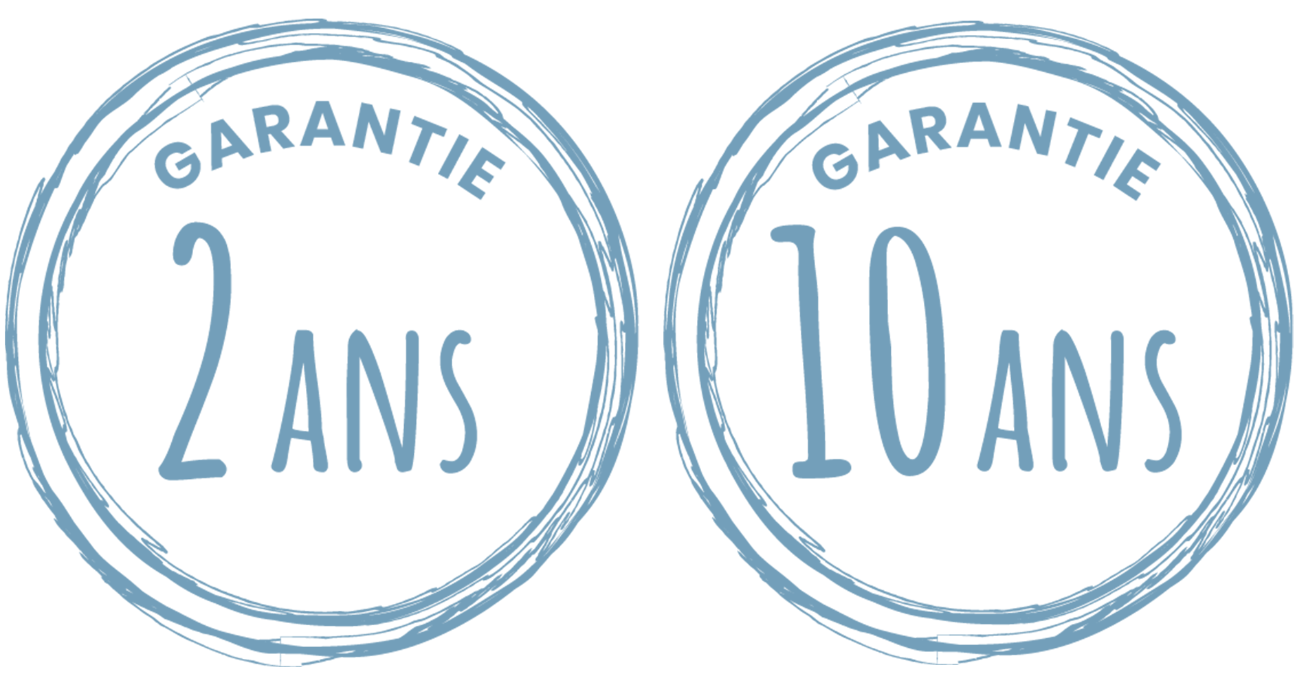 Garantie 2 et 10 ans