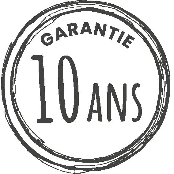 Garantie 10 ans gris